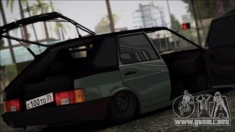 2109 Vagabundo para visión interna GTA San Andreas