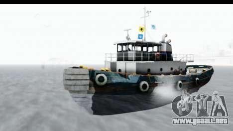 GTA 5 Buckingham Tug Boat v1 para la visión correcta GTA San Andreas