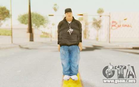 Def Jam Fight For New York - Fat Joe para GTA San Andreas segunda pantalla