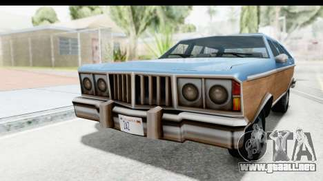 Pontiac Bonneville Safari from Bully para la visión correcta GTA San Andreas