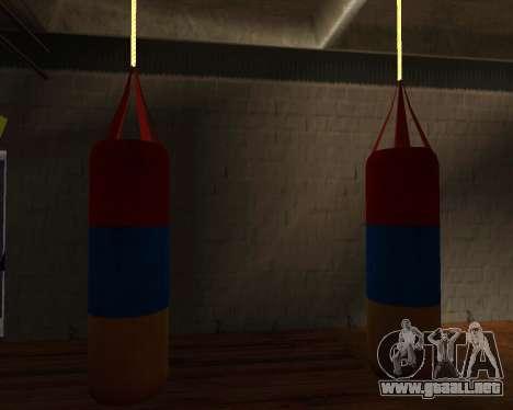 Pera de Boxeo de estilo de la bandera de armenia para GTA San Andreas tercera pantalla