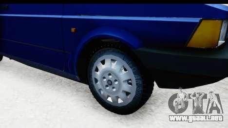 Fiat 147 Spazio TR Stock para GTA San Andreas vista hacia atrás