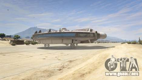 GTA 5 Star Wars Millenium Falcon 5.0 cuarto captura de pantalla