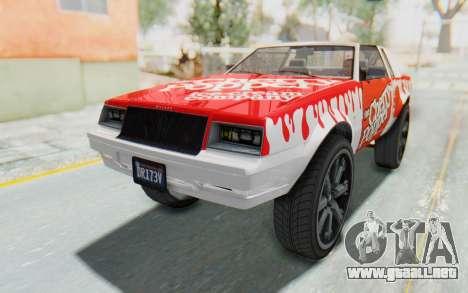 GTA 5 Willard Faction Custom Donk v2 IVF para el motor de GTA San Andreas