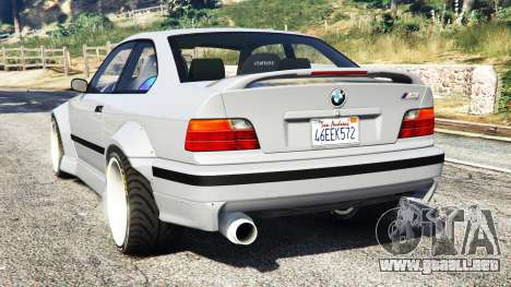 GTA 5 BMW M3 (E36) Street Custom vista lateral izquierda trasera