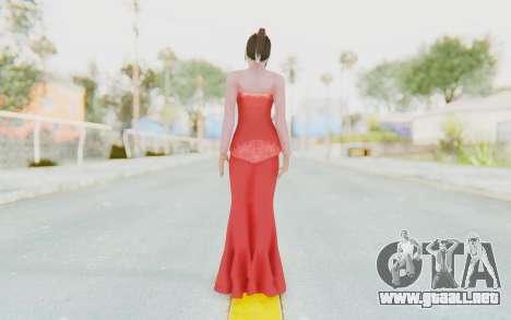 Linda Meilinda Kebaya Lady In Red para GTA San Andreas tercera pantalla