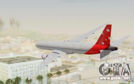 Boeing 777-300ER Virgin Australia v1 para la visión correcta GTA San Andreas