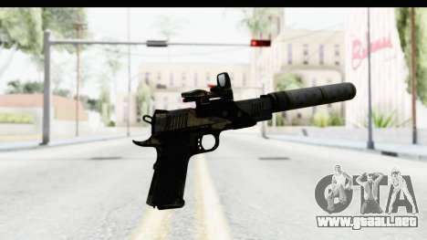 FarCry 3 - Colt 1911 Silenced para GTA San Andreas tercera pantalla