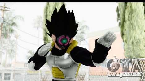 Dragon Ball Xenoverse Vegeta Timebreaker para GTA San Andreas