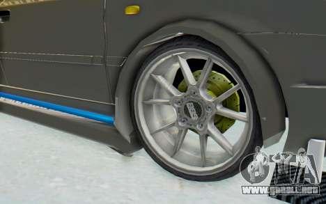 Ikco Soren Full Sport para GTA San Andreas vista hacia atrás