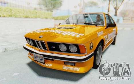 BMW M635 CSi (E24) 1984 HQLM PJ3 para GTA San Andreas interior