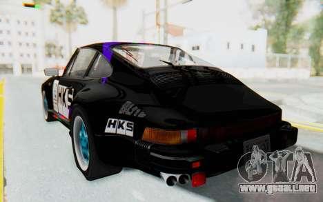 Porsche 911 Turbo 3.2 Coupe (930) 1985 para vista inferior GTA San Andreas