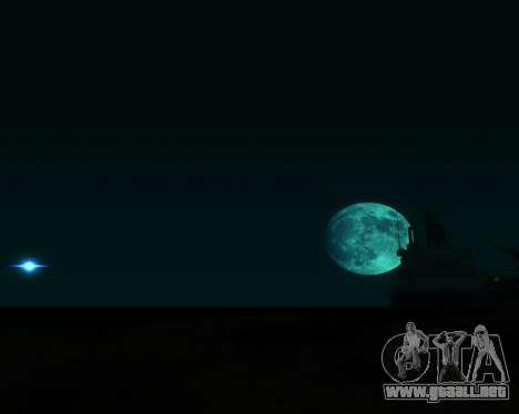 Realista ENB por medio de la PC V. 1 para GTA San Andreas segunda pantalla