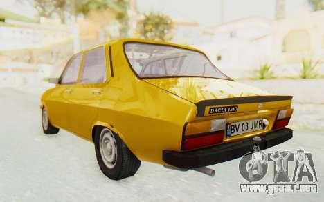 Dacia 1310 para GTA San Andreas left
