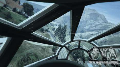 GTA 5 Star Wars Millenium Falcon 5.0 octavo captura de pantalla