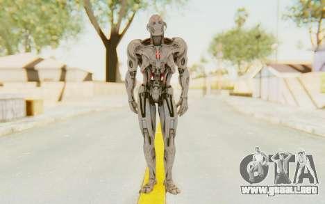 Marvel Heroes - Ultron Prime (AOU) para GTA San Andreas segunda pantalla