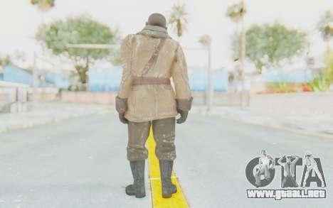 COD BO Lev Kravchenko Winter para GTA San Andreas tercera pantalla