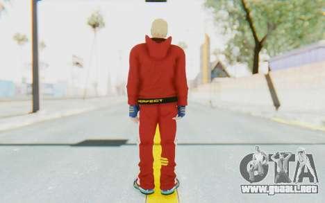 Slim Bob Skin para GTA San Andreas tercera pantalla