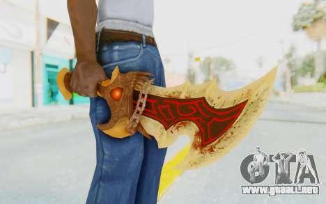 Blade of Athena para GTA San Andreas tercera pantalla