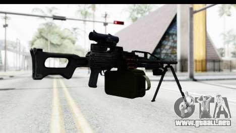 Kalashnikov PK (PKM) para GTA San Andreas tercera pantalla
