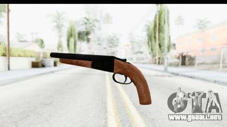 GTA 5 Double Barrel Sawn-Off para GTA San Andreas segunda pantalla