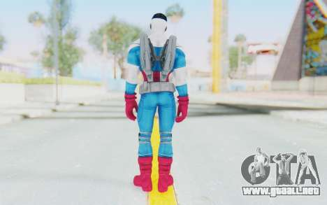 Marvel Heroes - Capitan America Sam Wilson para GTA San Andreas tercera pantalla
