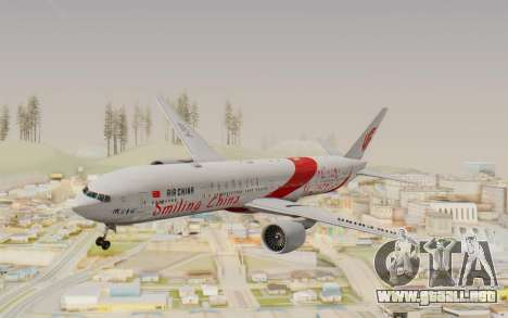 Boeing 777-300ER China Air para GTA San Andreas