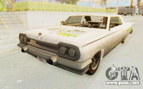 GTA 5 Declasse Voodoo Alternative v2 PJ para la vista superior GTA San Andreas