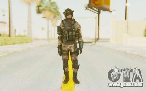 Federation Elite Assault Woodland-Flora para GTA San Andreas segunda pantalla