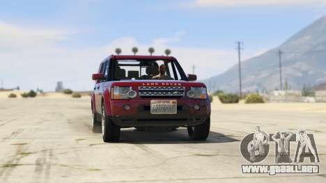GTA 5 Land Rover Discovery 4 vista lateral derecha