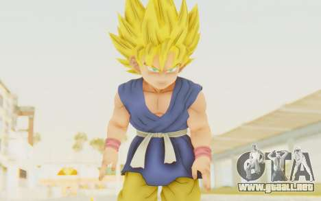 Dragon Ball Xenoverse Goku Kid GT SSJ para GTA San Andreas