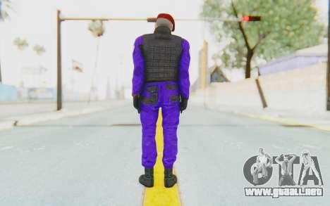Bahrain Officer para GTA San Andreas tercera pantalla