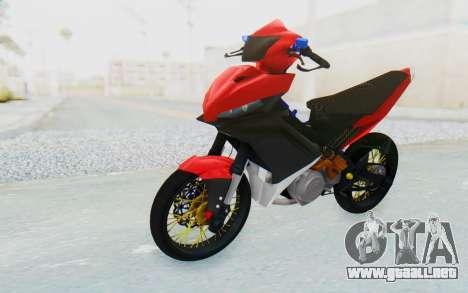 Yamaha Jupiter MX 135 Semi Roadrace para la visión correcta GTA San Andreas