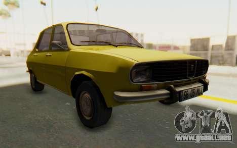 Dacia 1300 Stock para la visión correcta GTA San Andreas