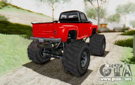 GTA 5 Vapid Slamvan XL v2.1 para la visión correcta GTA San Andreas