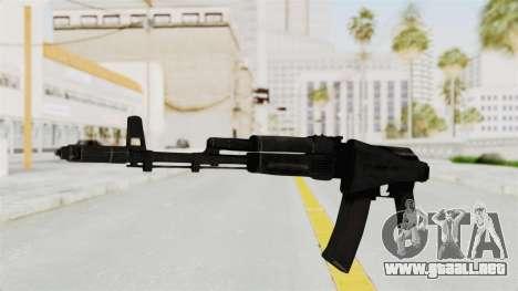 AK-74M v2 para GTA San Andreas segunda pantalla