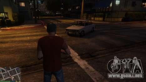 GTA 5 Cambio de personal transporte de caracteres tercera captura de pantalla