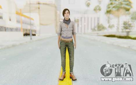 Far Cry 3 - Liza Snow para GTA San Andreas segunda pantalla