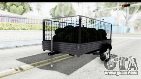 Volkswagen T4 Trailer para GTA San Andreas