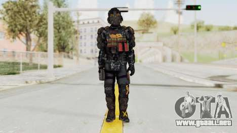 CoD Advanced Warfare KVA Heavy Soldier para GTA San Andreas segunda pantalla