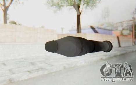 Missile from TF2 para GTA San Andreas sucesivamente de pantalla