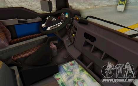 MAN TGA Energrom Edition v2 para vista lateral GTA San Andreas