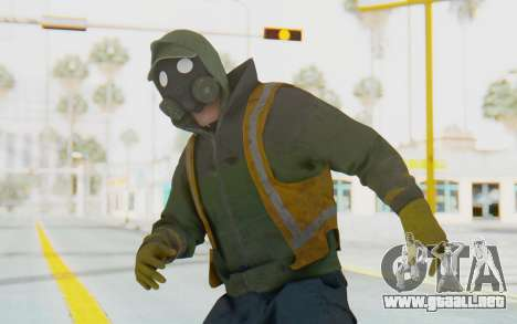 The Division Cleaners - Shield para GTA San Andreas