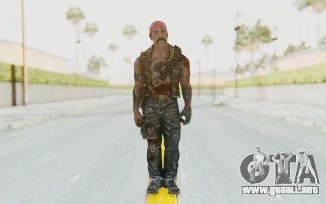 CoD BO DLC Danny Trejo para GTA San Andreas segunda pantalla