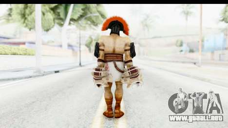 God of War 3 - Hercules v2 para GTA San Andreas tercera pantalla
