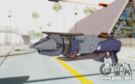 Pharah Mechaqueen Rocket para GTA San Andreas