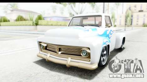 GTA 5 Vapid Slamvan Custom IVF para vista lateral GTA San Andreas