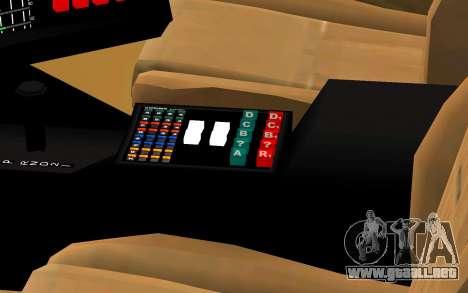 K.I.T.T. 2000 Pilot para la visión correcta GTA San Andreas