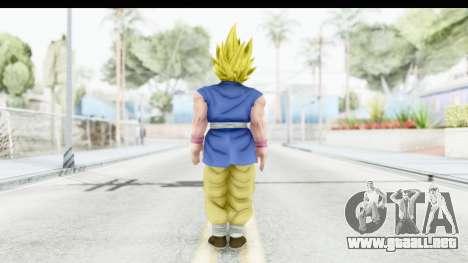 Dragon Ball Xenoverse Goku GT Adult SSJ2 para GTA San Andreas tercera pantalla