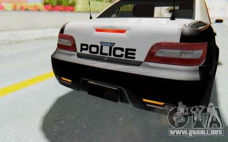 ASYM Desanne XT Pursuit v3 para GTA San Andreas interior